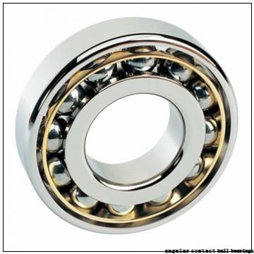 90 mm x 190 mm x 43 mm  ISO 7318 A angular contact ball bearings