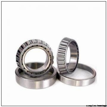 55 mm x 115 mm x 17,5 mm  NBS ZARN 55115 TN complex bearings