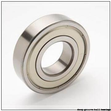 101,6 mm x 114,3 mm x 6,35 mm  KOYO KAC040 deep groove ball bearings