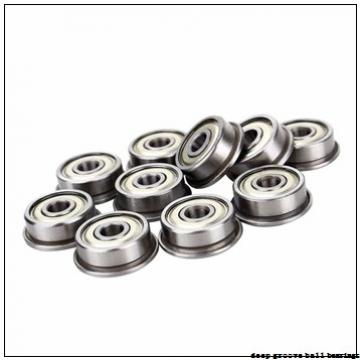 65 mm x 85 mm x 10 mm  FAG 61813-2Z-Y deep groove ball bearings