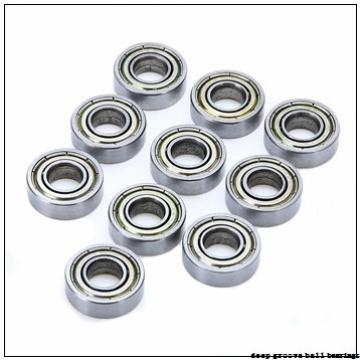 17 mm x 30 mm x 7 mm  NACHI 6903 deep groove ball bearings