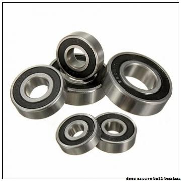 55 mm x 100 mm x 21 mm  FBJ 6211-2RS deep groove ball bearings