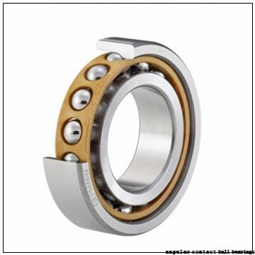 27 mm x 60 mm x 50 mm  PFI PW27600050CS angular contact ball bearings