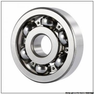 35 mm x 72 mm x 17 mm  Timken 207PPG deep groove ball bearings