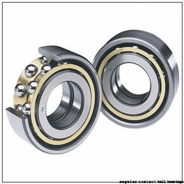 100 mm x 180 mm x 60.3 mm  NACHI 5220NR angular contact ball bearings #2 image