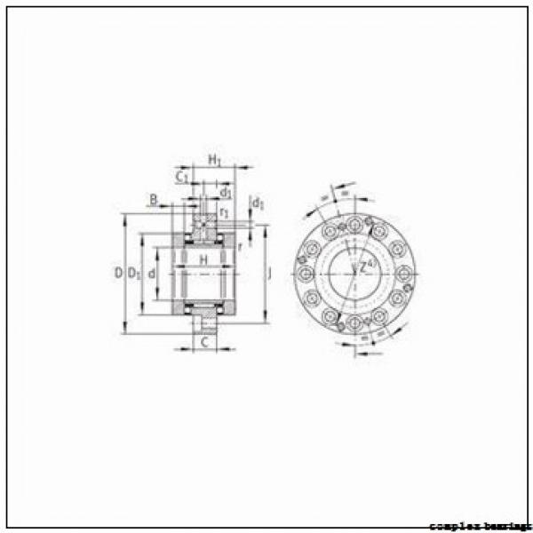 INA NKX12 complex bearings #1 image